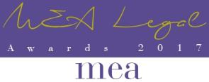 2017 MEA Legal Awards
