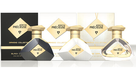 Best New Niche Perfume Design 2017- Pierre Precieuse Parfum