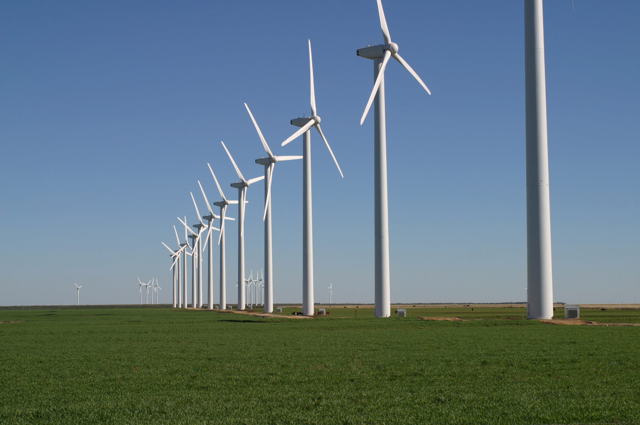 Largest Utility Scale Wind Power Plant in Middle East Opened
